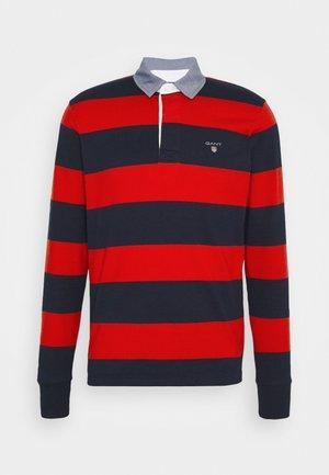 ORIGINAL HEAVY RUGGER - Polo shirt - lava red
