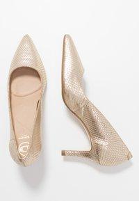 Dune London - ANDINA - Classic heels - gold - 3