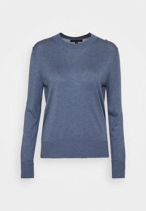 EASY CREW SOLIDS - Maglione - light blue