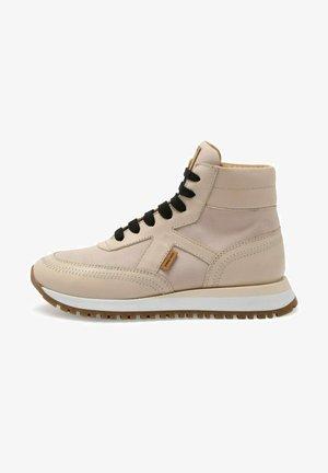 LUNA - Sneakersy wysokie - beige