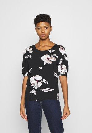 ONLKARMA LIFE  - T-shirt con stampa - black