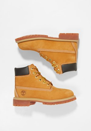 6 IN PREMIUM WP BOOT - Botines con cordones - wheat