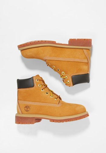 PREMIUM - Lace-up ankle boots - wheat