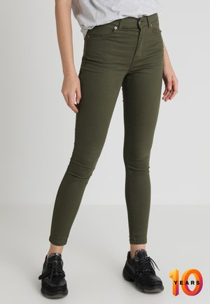 LEXY - Jeans Skinny Fit - utility green
