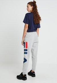 Fila - PURE BASIC PANTS - Tracksuit bottoms - light grey melange - 2