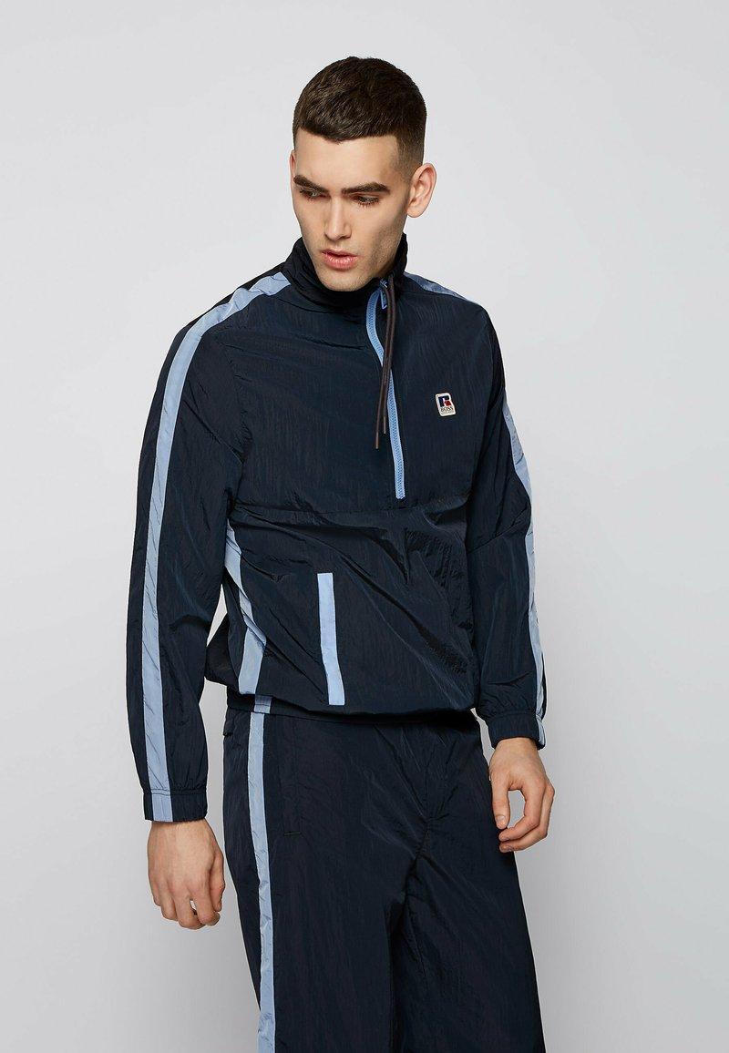 BOSS - SANYL - Sweatshirt - dark blue