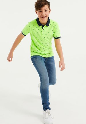 Polo shirt - bright green