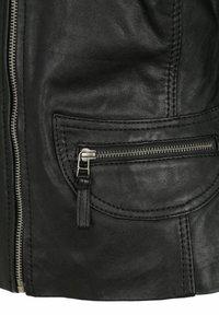 7eleven - KATERINA - Leather jacket - black - 3