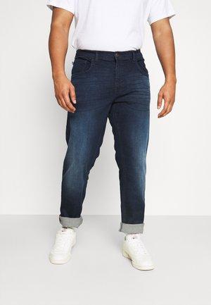 JET FIT - Straight leg jeans - denim dark blue