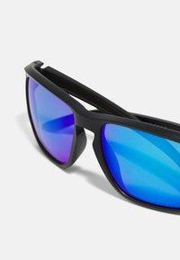 Oakley - SYLAS UNISEX - Sunglasses - matte black w/prizm sapphire polar - 5