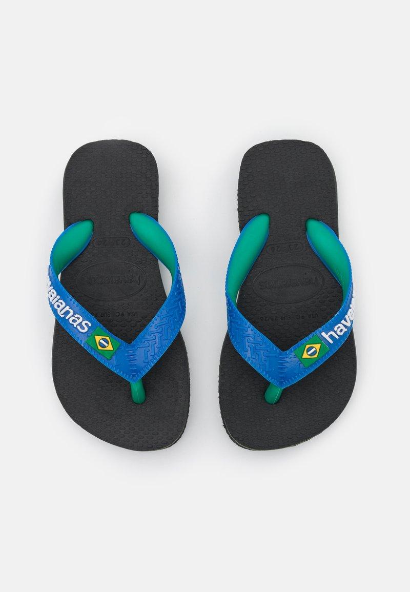 Havaianas - BRASIL MIX - Pool shoes - black/blue star