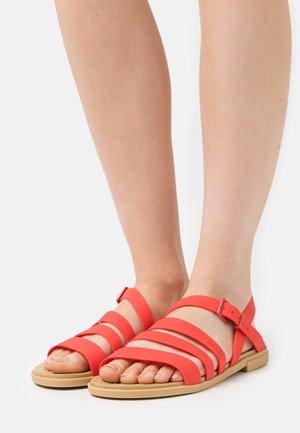 TULUM - Sandals - flame
