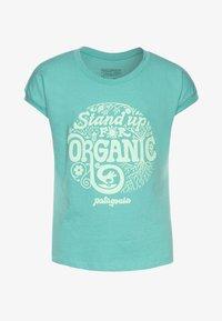 Patagonia - GRAPHIC ORGANIC  - Print T-shirt - light beryl green - 0