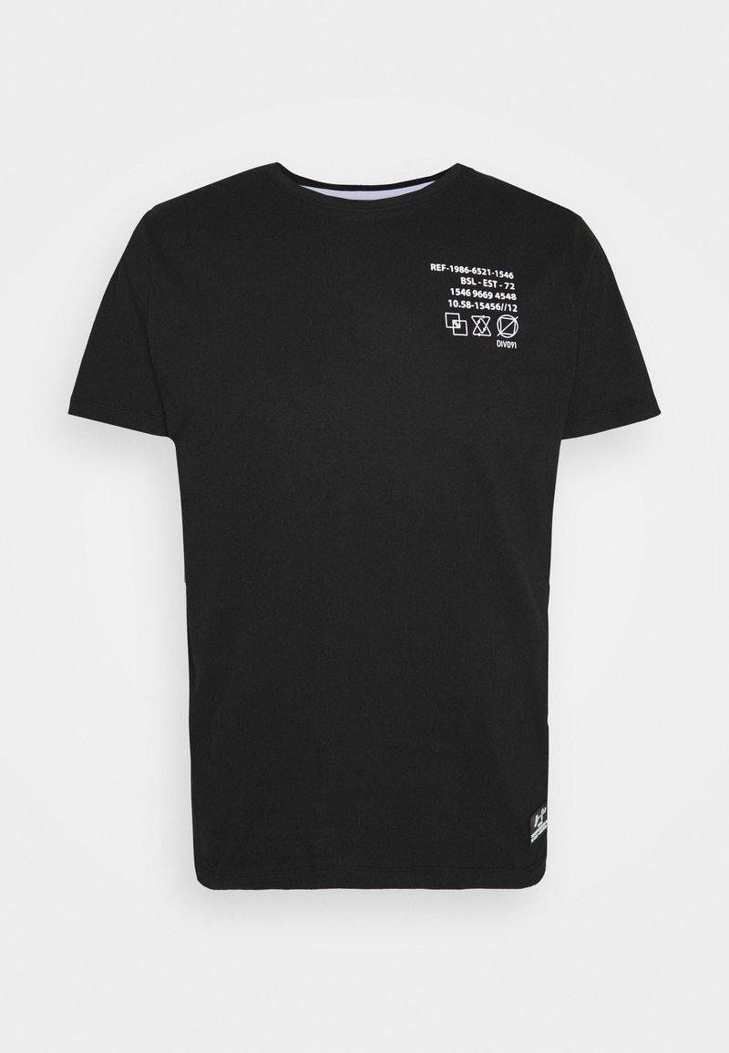 Brave Soul - DEMETER - T-shirt imprimé - jet black