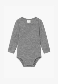 Lindex - BABY WOOL UNISEX - Body - mottled grey - 0