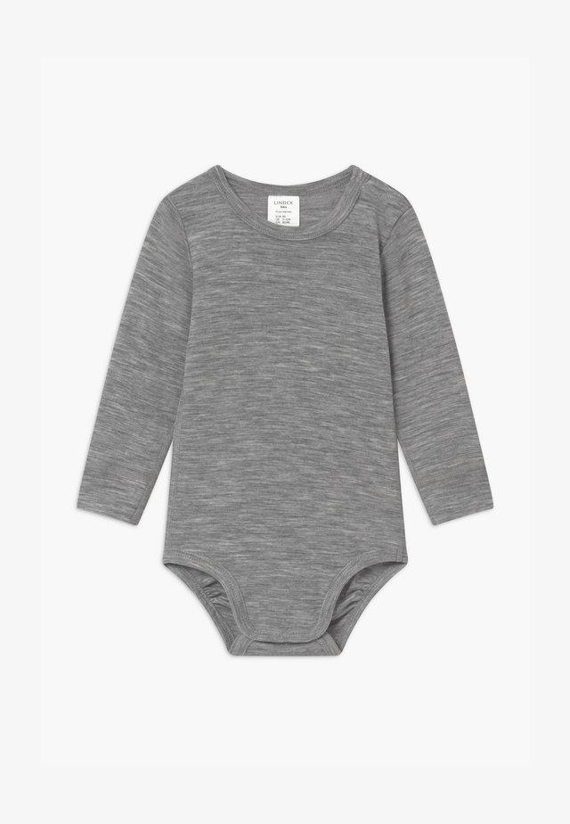 BABY WOOL UNISEX - Body - mottled grey