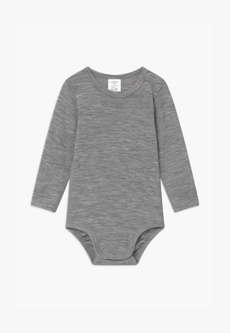 Lindex - BABY WOOL UNISEX - Body - mottled grey