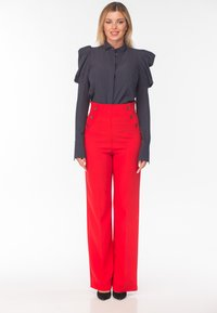 Diyas London - CHERRY - Trousers - red - 3