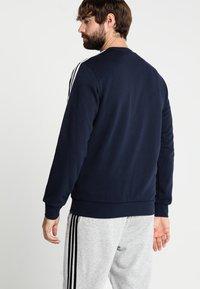 adidas Performance - Essentials 3-Stripes Sweatshirt - Sweatshirt - legend ink/white - 2