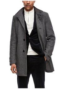 s.Oliver BLACK LABEL - Classic coat - dark blue check - 6