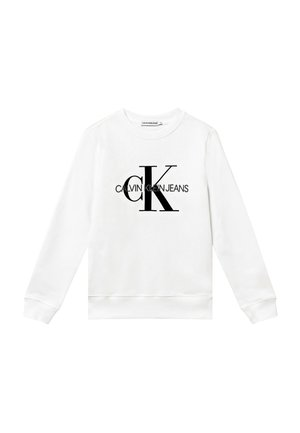 MONOGRAM LOGO UNISEX - Sweater - white