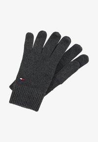 Tommy Hilfiger - GLOVES - Fingerhandschuh - grey - 0
