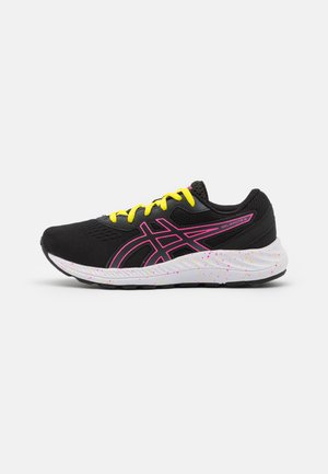 GEL-EXCITE 8 UNISEX - Neutral running shoes - black/hot pink