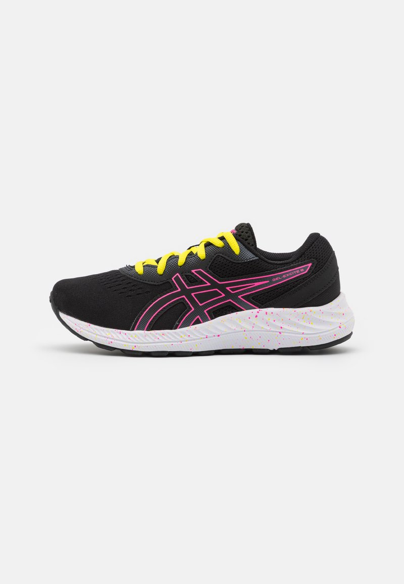 ASICS - GEL-EXCITE 8 UNISEX - Neutral running shoes - black/hot pink