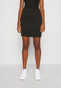 ONLY - ONLSPIRIT SHORT SKIRT - Pencil skirt - black - 0
