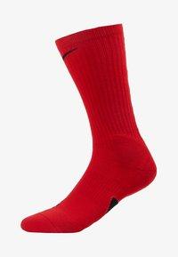 ELITE CREW - Sports socks - university red/black