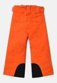 Ziener - ARISU UNISEX - Zimní kalhoty - neon orange - 2