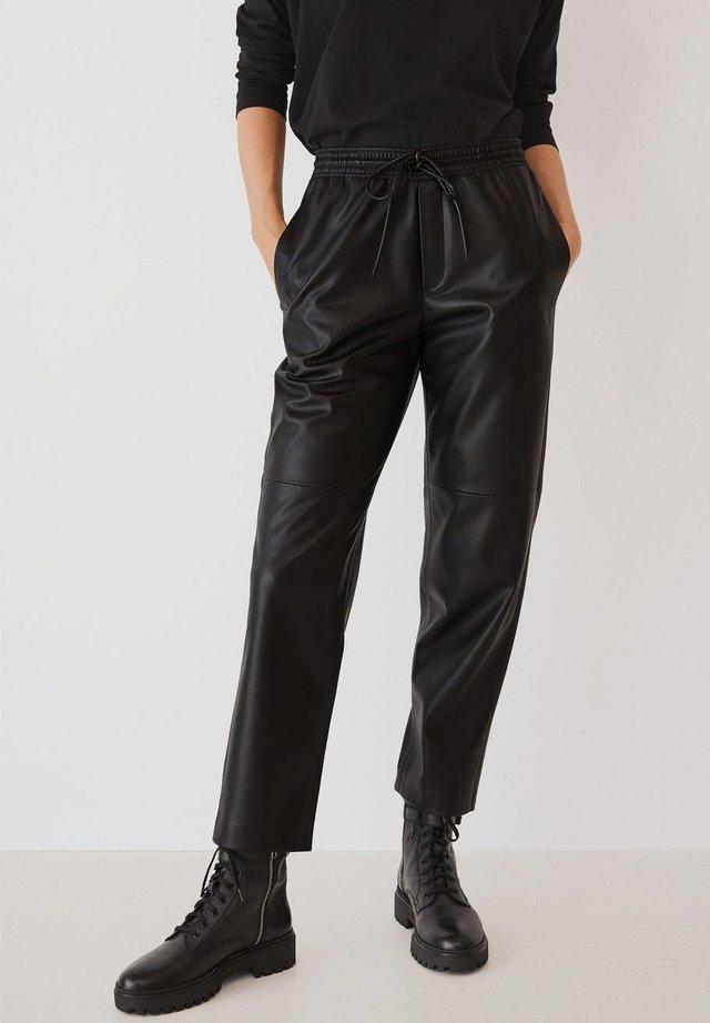 APPLE - Pantalon classique - černá