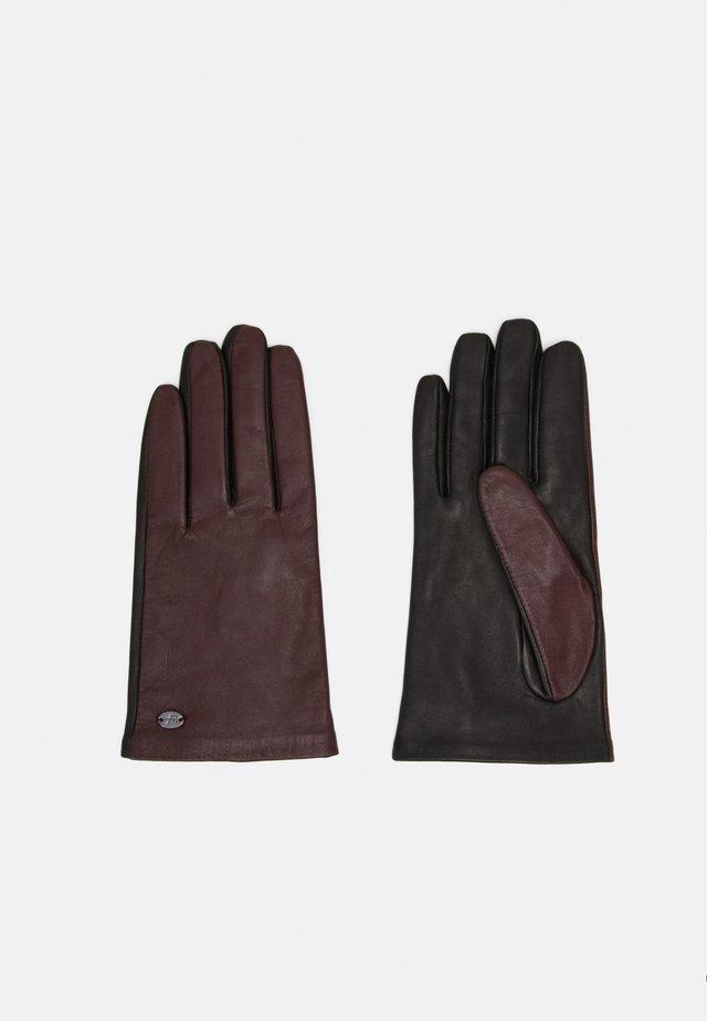 Handsker - black/bordeaux