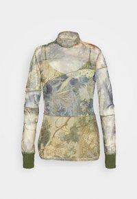CHATTE - Maglietta a manica lunga - deep lichen