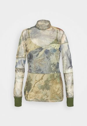 CHATTE - Long sleeved top - deep lichen
