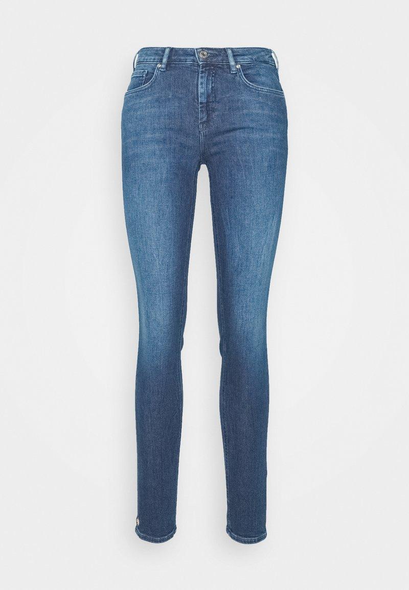 Scotch & Soda - BOHEMIENNE CROPPED - Jeans Skinny Fit - blue