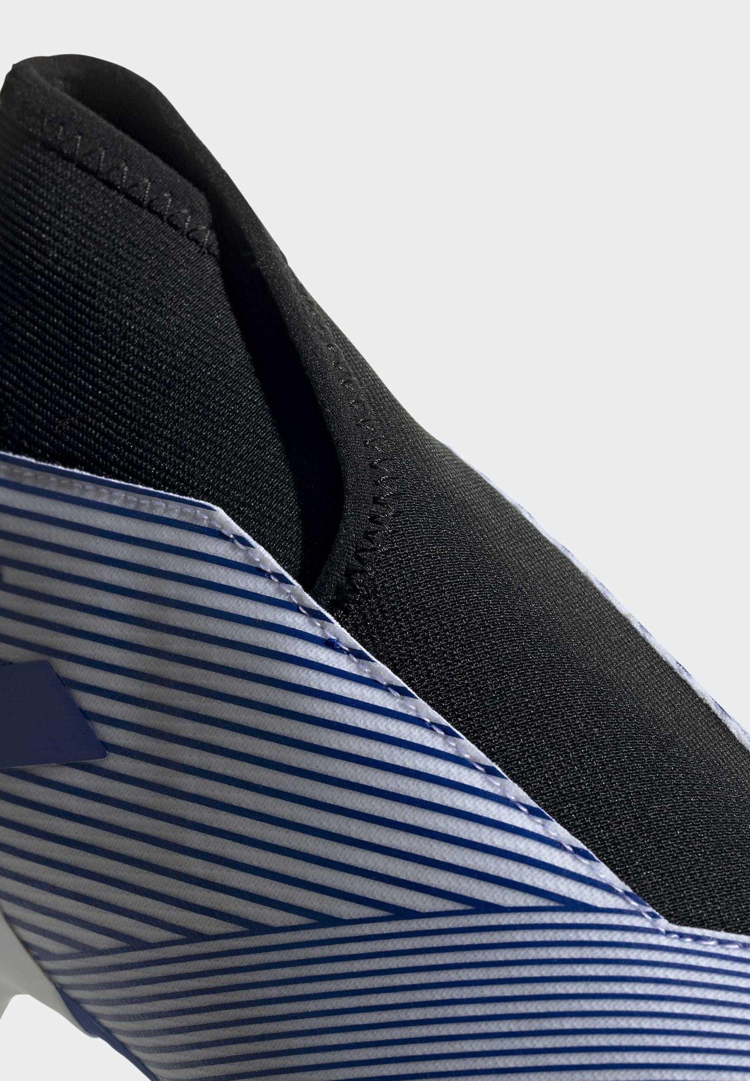 adidas Performance NEMEZIZ 19.3 FIRM GROUND BOOTS - Fußballschuh Nocken - white/weiß - Herrenschuhe jte12