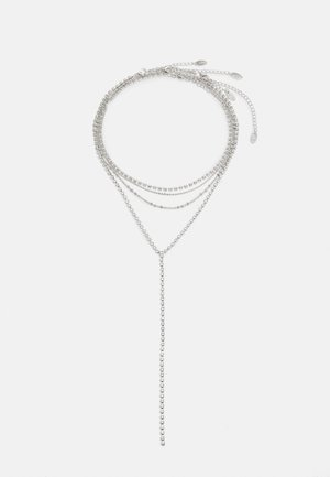 WIN CUPCHAIN Y NECK 4 PACK - Necklace - silver-coloured