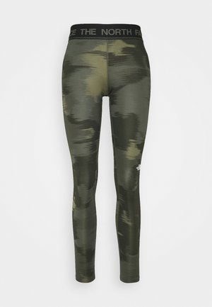 FLEX MID RISE - Collants - green
