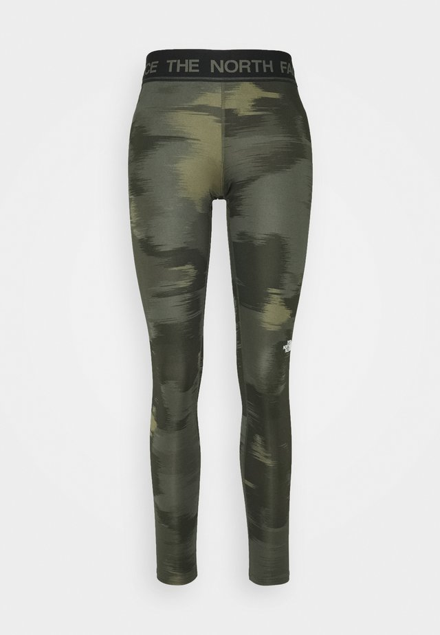 FLEX MID RISE - Tights - green