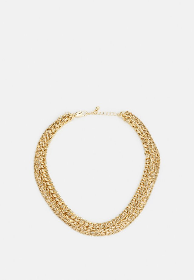 PCDACIKA COMBI NECKLACE - Collier - gold-coloured