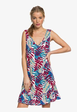 ROXY™ GET DOWN ON IT - ÄRMELLOSES KLEID FÜR FRAUEN ERJWD03407 - Day dress - snow white paradise