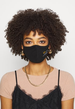 CREW FACE MASK UNISEX - Community mask - black