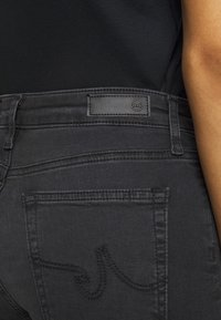 AG Jeans - THE MARI SLIM STRAIGHT - Slim fit jeans - black denim - 3