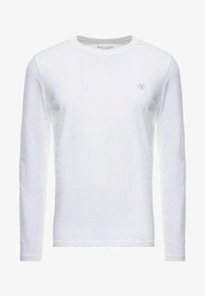 LONG SLEEVE ROUND NECK - Långärmad tröja - white