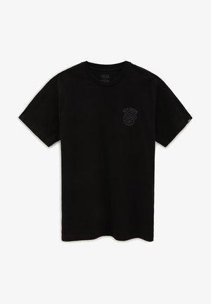 MN EL SOLE SS - Print T-shirt - black