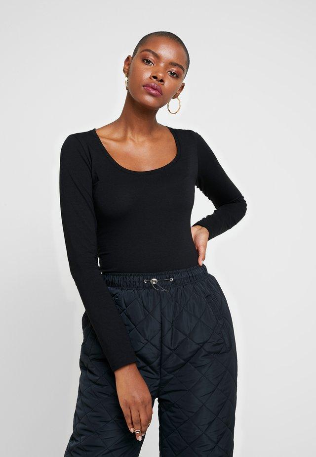 TURBO - Long sleeved top - black