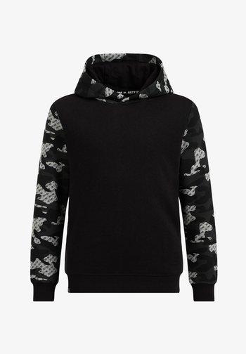 CAMOUFLAGE - Hoodie - black