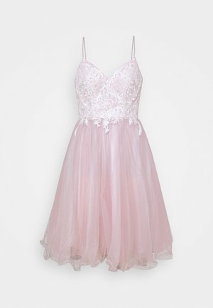 Cocktail dress / Party dress - ivory/mauve