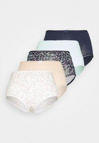 DITSY LEAF 5 PACK - Briefs - navy mix
